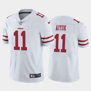 49ers Brandon Aiyuk White  Jersey